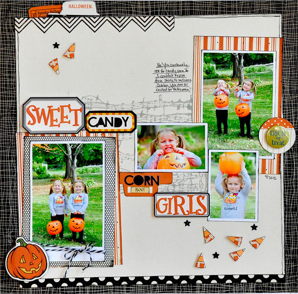 Sweet Candy Corn Girls ~October Afternoon~