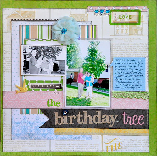 The Birthday Tree ~Webster's Pages~
