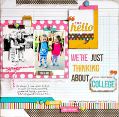 Thinking About College ~NEW Simple Stories~