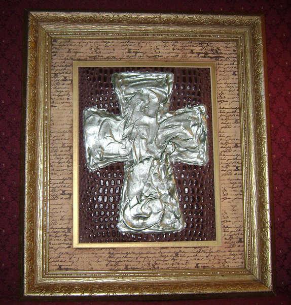 Plaster Cross Frame