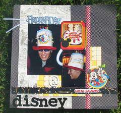 Happy Bday @ Disney