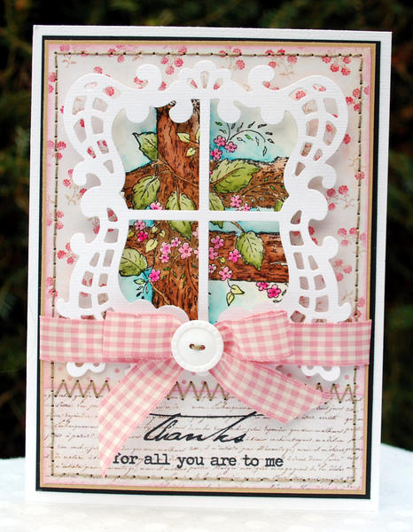 Thanks for all you are to me ~ Heartfelt Creations ~