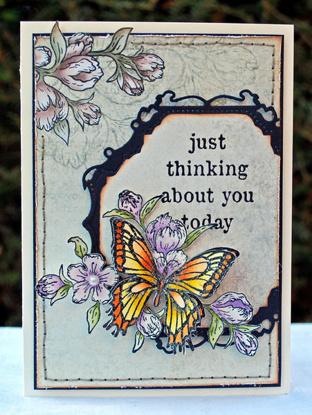 Just thinking about you ~ Heartfelt Creations ~