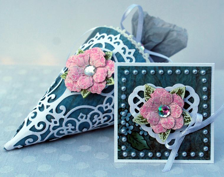 Candy Cone ~ Heartfelt Creations ~