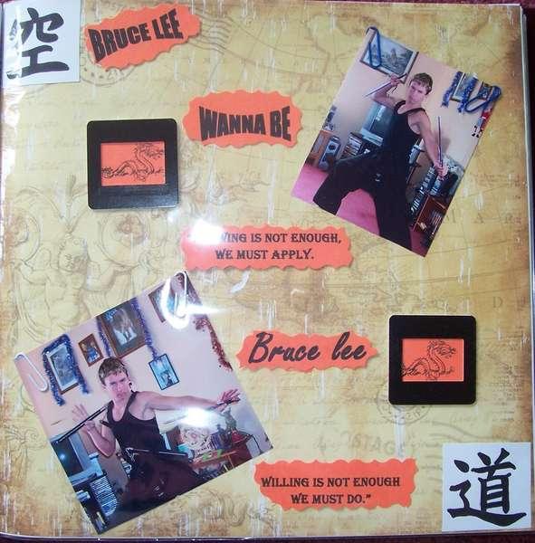 Bruce Lee Wanna B