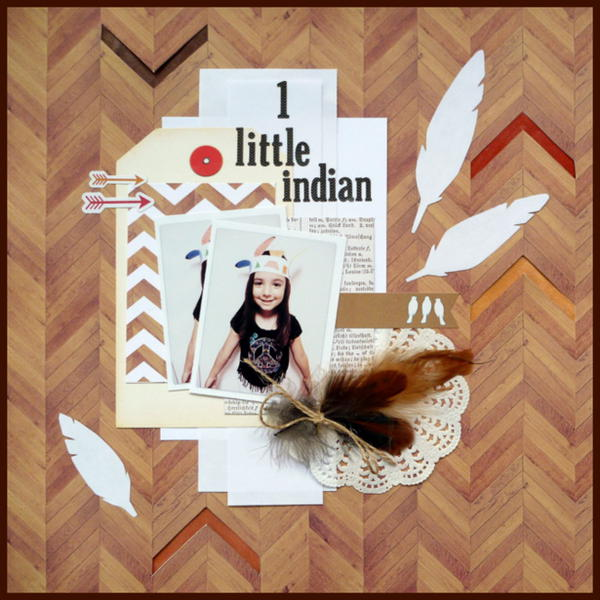 1 Little Indian - Creative Inspirations Paint