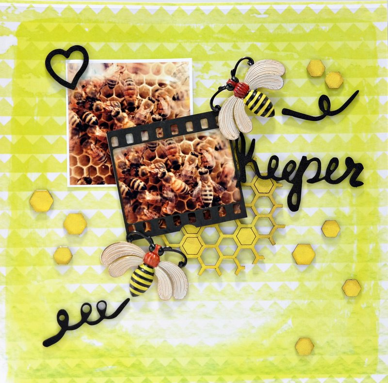 Bee Keeper - ColoriQue by Lisa Marie Jimenez