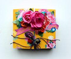 Birthday Wishes Gate Fold Journal - C'est Magnifique