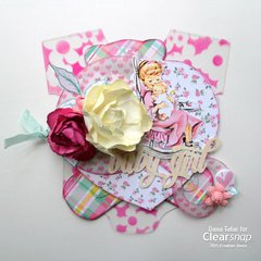 Baby Girl Mini Album - Clearsnap
