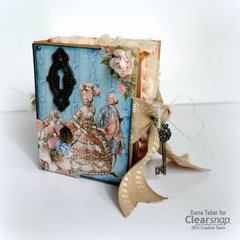 Gilded Lily ATC Book Box - Clearsnap