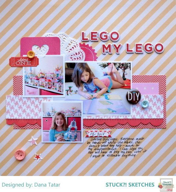 Lego My Lego - Stuck?! Sketches