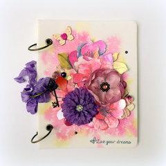 Live Your Dreams Canvas Album - C'est Magnifique