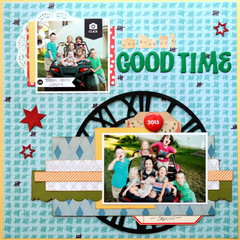 One Heck of a Good Time - Tando Creative Chipboard