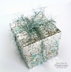Surfacez Metallic Gift Box for Winter - Clearsnap