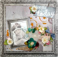 Enjoy Today - Scraps of Darkness May 2017 Attic Finds Kit