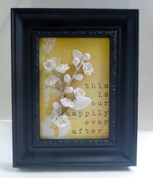 Happily Ever After Frame - Creative Imaginations