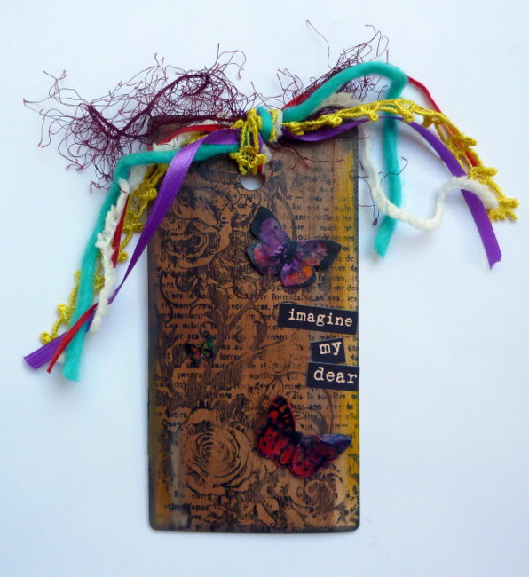 Melted Paper Crafter Crayon Tag - Faber-Castell GDT