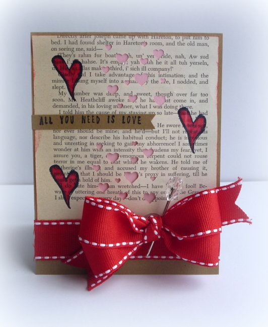 All You Need Is Love Card - Craft-Dee BowZ