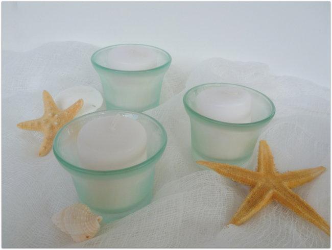 Sea Glass Votive Holders - Faber-Castell GDT