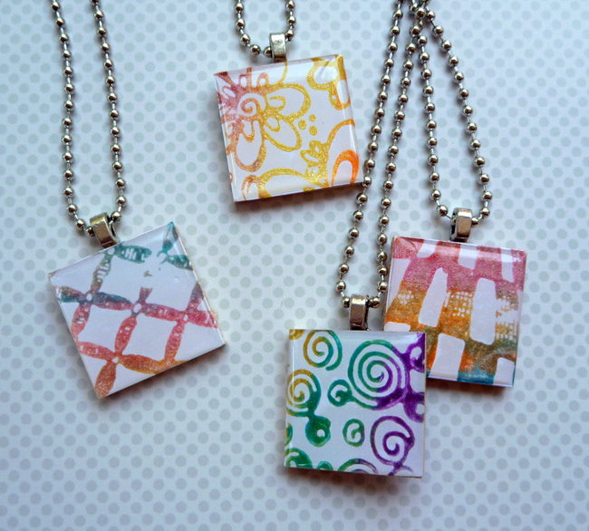 Friendship Necklaces - Creative Inspirations Paint