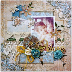Adore - ScrapThat! July Round Robin