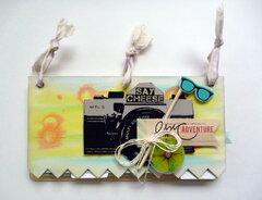 Vacation Mini Album - Faber-Castell Guest Designer