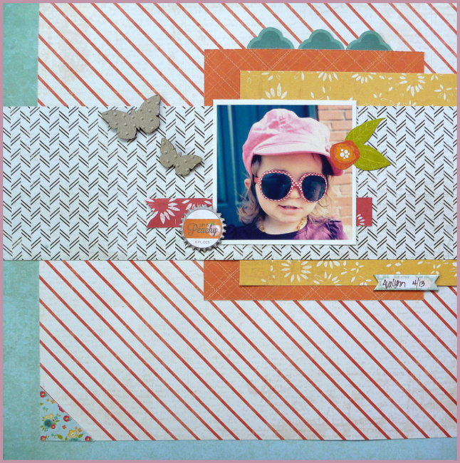 Peachy - Tando Creative Chipboard