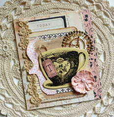 Time For Tea Card - Your Memories Here