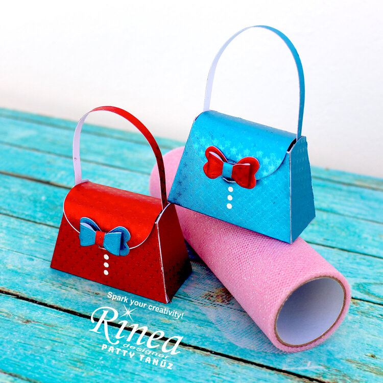 LITTLE BAGS WITH RINEA FOILS!