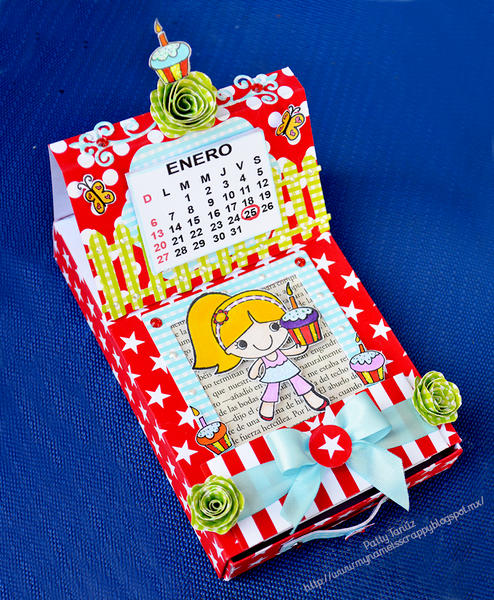 MATCH BOX WITH CALENDAR