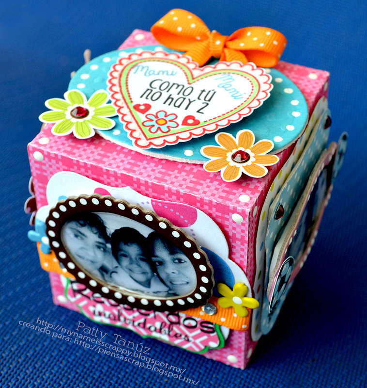 Mother`s Day..... CUBO PARA MAMÁ....