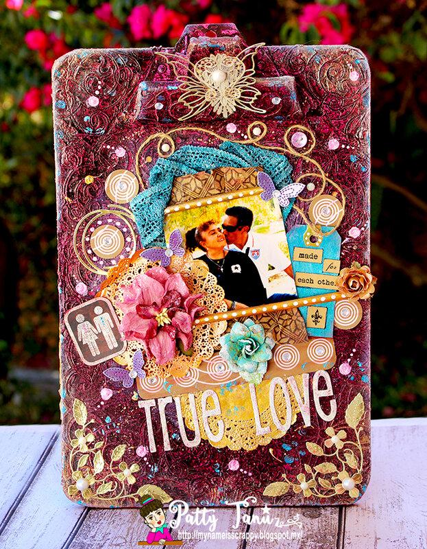 TRUE LOVE CLIPBOARD