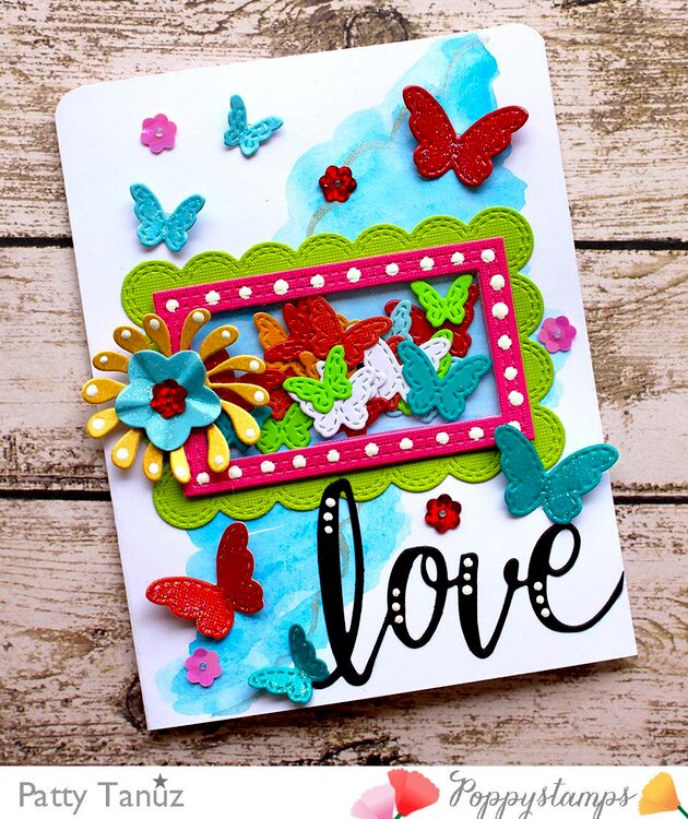 Love card with Butterflies!