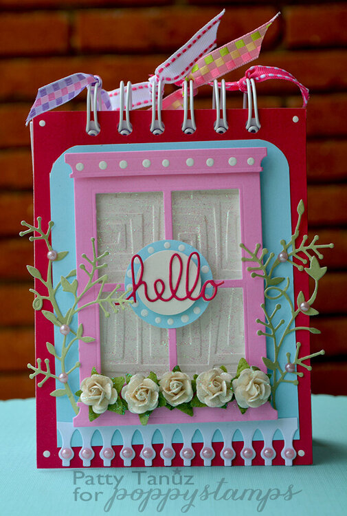 Hello Notebook!!! Poppystamps DT :)