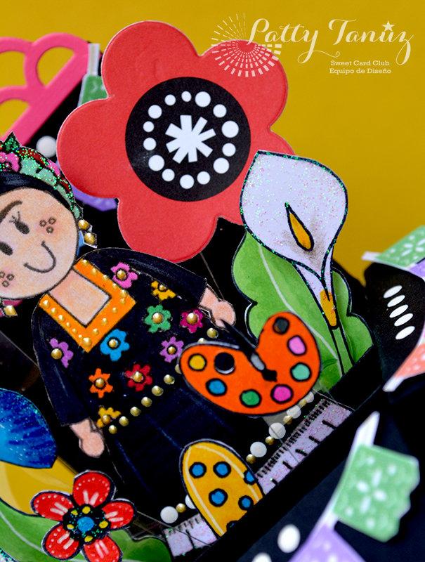 FRIDA TEHUANA CARD by PATTY TANÚZ