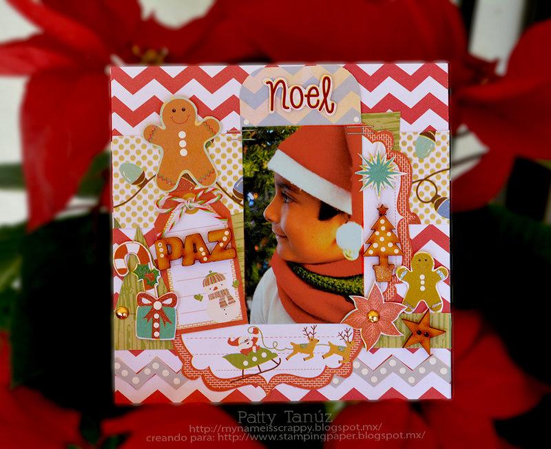 PAZ... CHRISTMAS LAYOUT