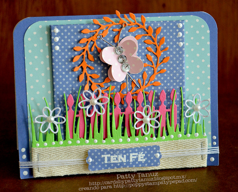 TEN FÉ... DT POPPY STAMPS (DIECUTS AND STAMPS)