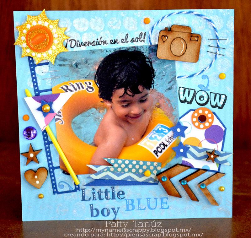 WOW, LITTLE BOY BLUE...