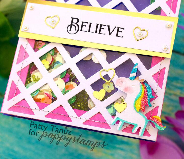 Believe Shaker Card!