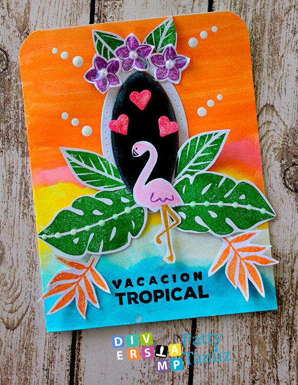 Flemish Verano Tropical Card