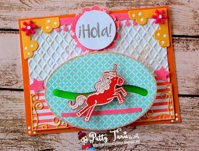 Hola! Unicorn Card!!!!