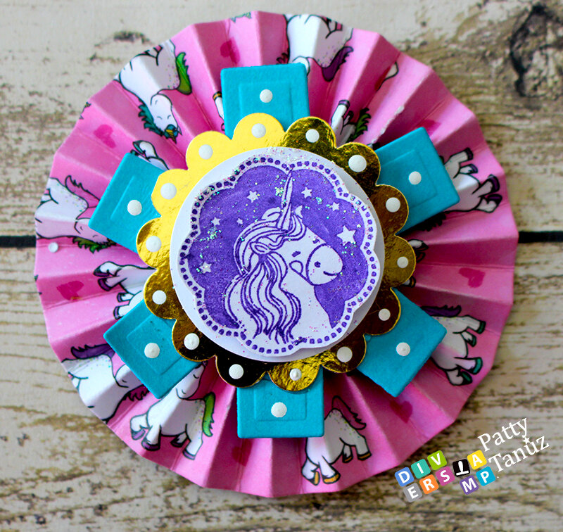 UNICORN ROSSETTES