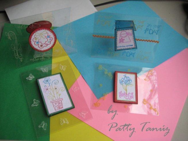 ACETATE CARDS