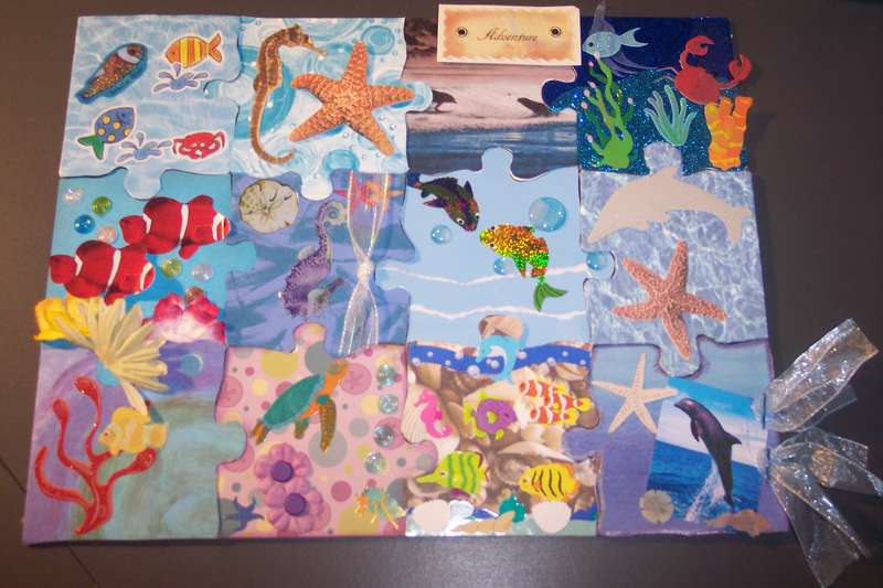 My underwater puzzle pieces