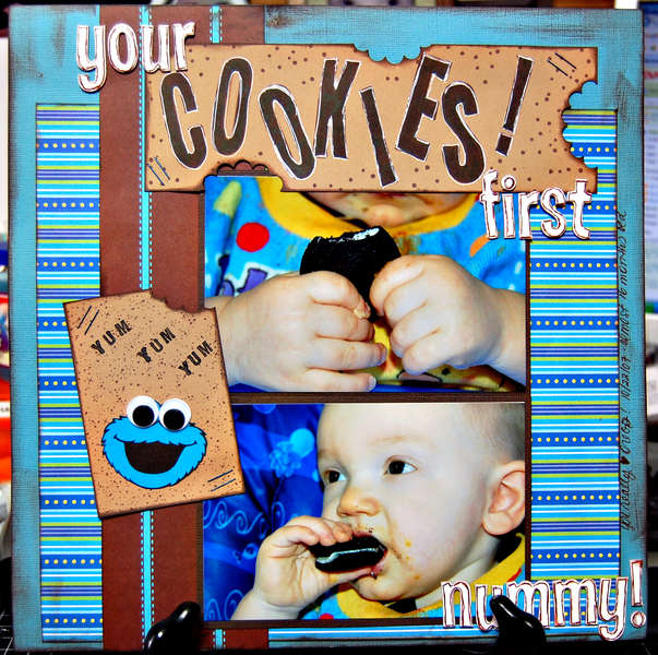 Your First Cookies (used items from a swap) 2008