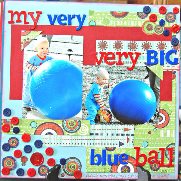 My Very Very Big Blue Ball (2008)