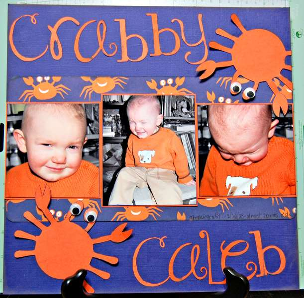 Crabby Caleb (entirely from SCAL) 2008
