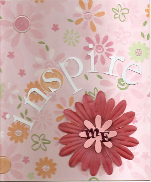 Cover for Inspire Me Challange Book