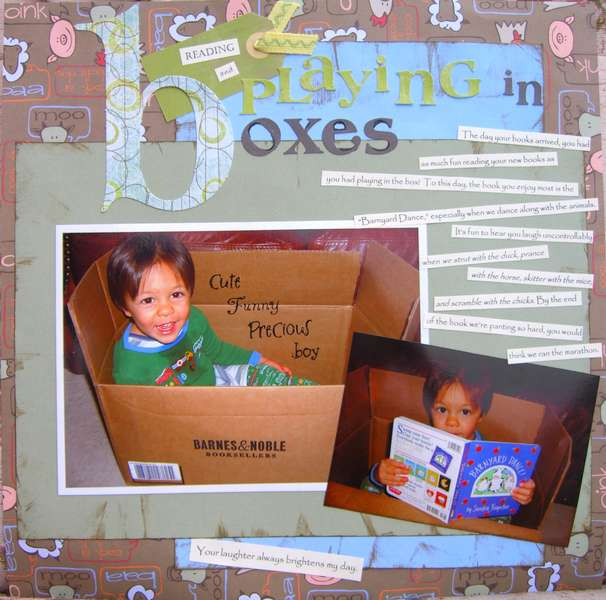 Reading and Playing in Boxes