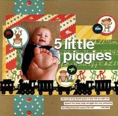 5 Little Piggies